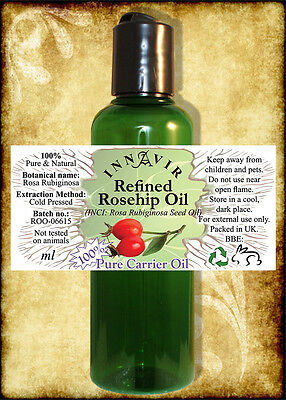 Pure Natural Refined Rosehip / Rosehip Seed Oil 100ml