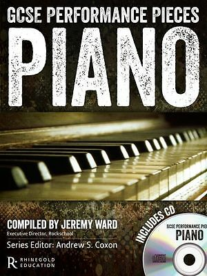 GCSE Performance Pieces Piano Learn to Play Keyboard Exam Music Book & CD