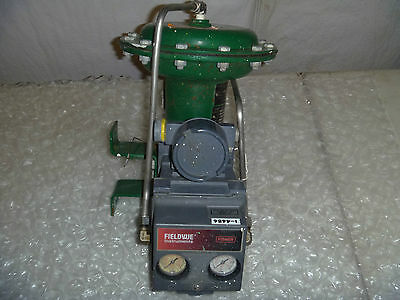 Fisher 1052 Actuator Size 20 w/ DVC5020 Fieldvue Positioner