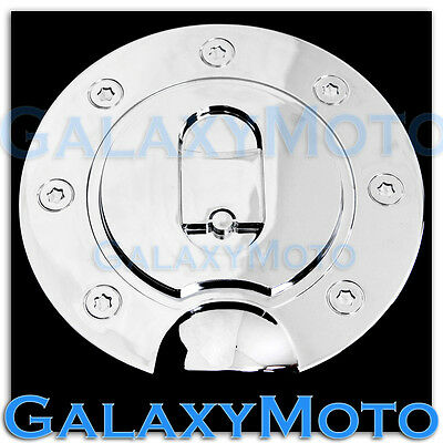1999-06 2007 2008 2009 2010 FORD F250 F350 Superduty Chrome Fuel Gas Door COVER