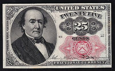 US 25c Fractional Currency FR1308 Ch CU (-23M) (10)