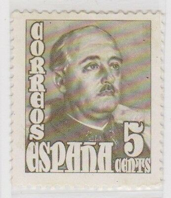 Stamp(SP145) 1948 Spain 5c Brown ow1088a