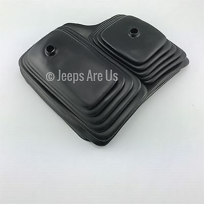 Jeep Wrangler CJ YJ Shifter Boot & Bezel Double Boot MOPAR NEW OEM