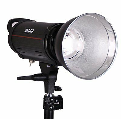 Mettle 600W Dual Power AC/DC 110v Monolight Flash w/ Battery Pack