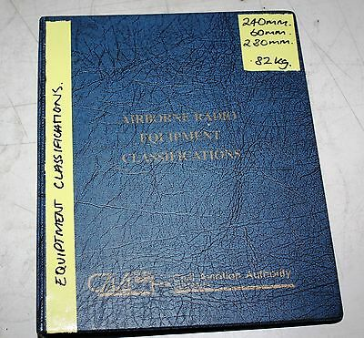 Airborne Radio Equipment Classifications Manual
