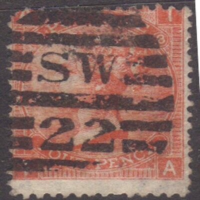 (GB56) 1865 Queen Victoria 4D Red ow94