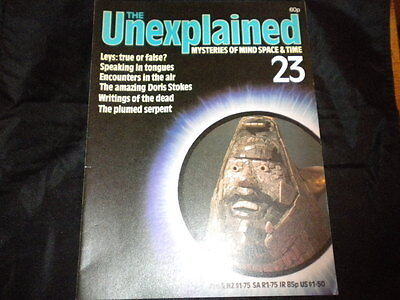The Unexplained Orbis Issue 23 - Leys: True or False? - Speaking in Tongues
