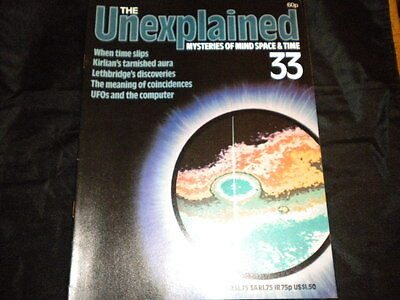 The Unexplained Orbis Issue 33 - When Time Slips - Kirlian's tarnished Aura