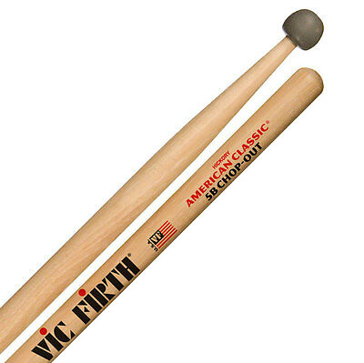 Vic Firth 5B Practice Drum Sticks - Chop-Out: Pad & Sticks Built Into One!