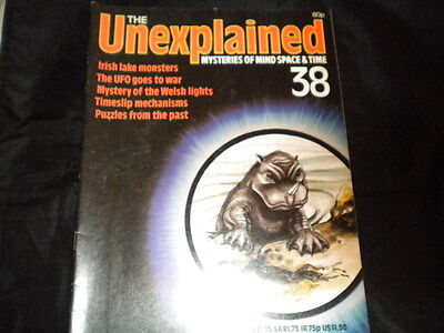 The Unexplained Orbis Issue 38 - Irish Lake Monsters - The UFOs goes to War
