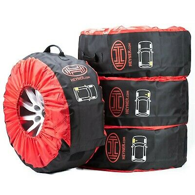 "TOP wheel tyre storage bags protective covers 14''15""16""17""18'' spare winter 4pc"
