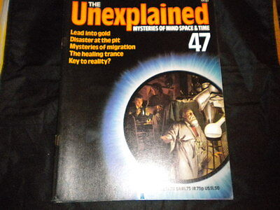 The Unexplained Orbis Issue 47 - Lead into Gold - Disaster at the Pit