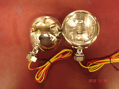 1932 Ford Coupe Sedan Roadster COWL LIGHTS with turn signals NEW