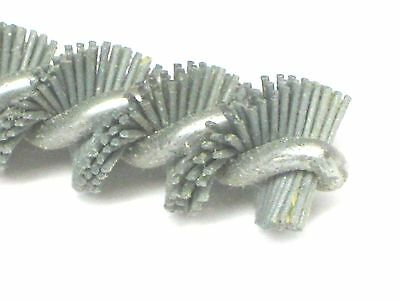 "3 pieces 7/16"" diameter x 6-1/2"" Long  Mounted Nylon TUBE & pipe Cleaning BRUSH"