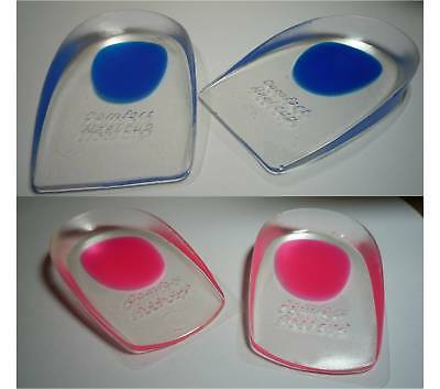 Silicone Gel Comfort Heel Cups Pads/Insoles/Inserts