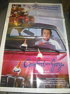 Comfort And Joy / Original U.s. One-Sheet Movie Poster (Bill Forsyth)