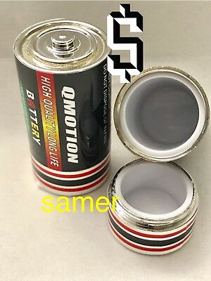 2  C  Battery Secret Safe   Stash  Pill Box Can  Safe  Hide **heavy One **