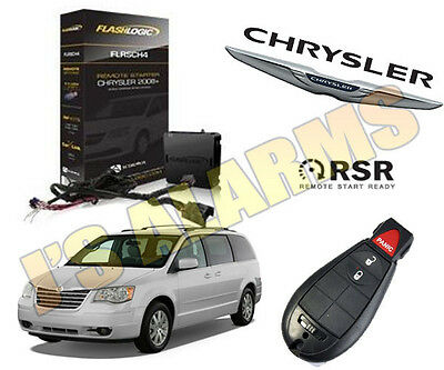 2008-2012 Chrysler Town & Country Remote Start Add On Factory Key Fob 3X Lock
