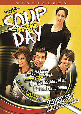Soup of the Day DVD New 2007, 2-Disc Set Catherine Reitman, John Crowley