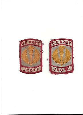 Vintage U.S. Army JROTC Patches Lot of 2