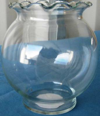 """8 pcs. NEW 4.75"""" CLEAR GLASS FLUTED IVY BOWL INDIANA#3683 FREE SHIPPING!"""