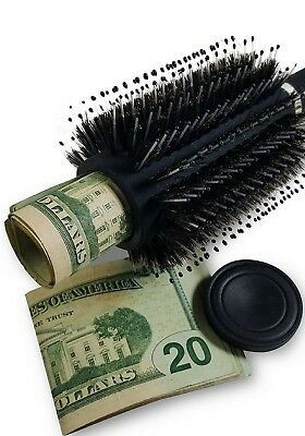New Hidden Hair Brush  Stash Safe  Diversion  Secret  Spy Security  Brush *new *