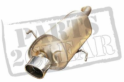 Alfa Gt 2.0 Jts Rear Exhaust Silencer 165 Bhp Coupe Cloverleaf Chrome Tail Pipe