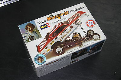 REVELL TOM THE MONGOOSE McEWEN ENGLISH LEATHER FUNNY CAR