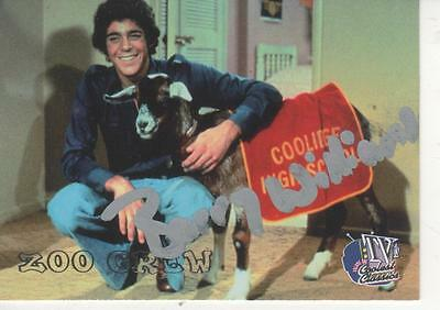 Barry Williams Signed 1998 Inkworks Tv's Coolest Classics #47 - Brady Bunch