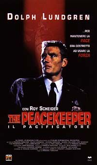 The Peacekeeper. Il pacificatore (1997) VHS