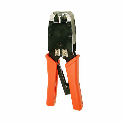 Cable Crimper Tool RJ45/RJ11 Modular Plug Cat5e/Cat6 Network LAN Crimp Tool