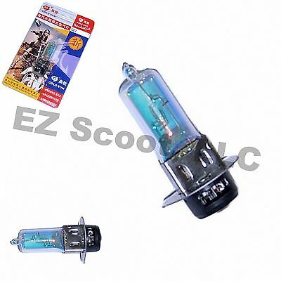 HEADLIGHT BULB 12V 50/50 WATT P15d *KRYPTON STYLE* SCOOTER MOTORCYCLE ATV  BMS