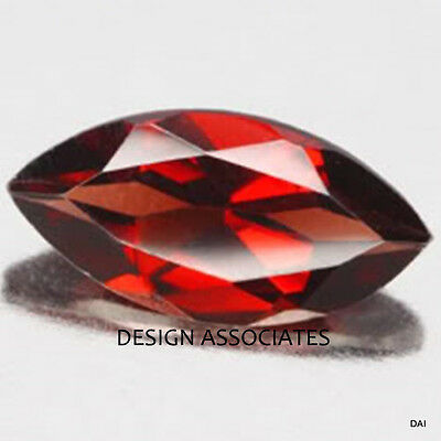 14X7 Mm Marquise Cut Natural Red Garnet Vvs