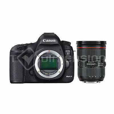 Canon EOS 5D mark III with EF 24-70mm f2.8L II Lens Kit S3547