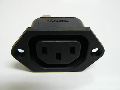Interpower 8301512 Screw Mounted 3 Position Power Connector 15A 250V (Lot Of 3)