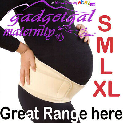 Pregnancy Maternity Abdominal Back Support Strap Belt Belly Band in LARGE SIZES