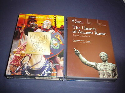 Teaching Co Great Courses DVDs     HISTORY of ANCIENT ROME        new + BONUS
