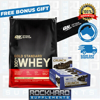 Optimum Nutrition 100% Whey Gold Standard 10lb Protein Double Chocolate Elite