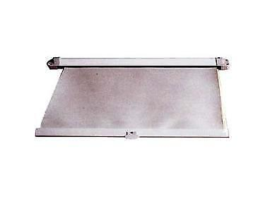 WINDOW / HATCH SHADE-PULL OUT RETRACTABLE- W/ MOUNTING HARDWARE - 355mm x 355mm