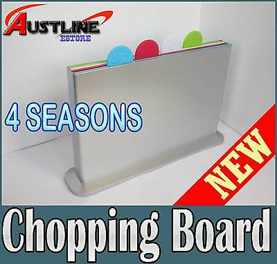 Index Chopping Board 4 Colour Piece Set