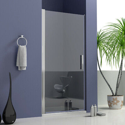 Walk In Pivot Shower Enclosure Glass Door Screen Cubicle Side Panel Stone Tray Q