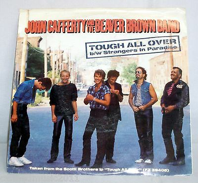 John Cafferty & Beaver Brown: Tough All Over / Strangers in Paradise [Unplayed]