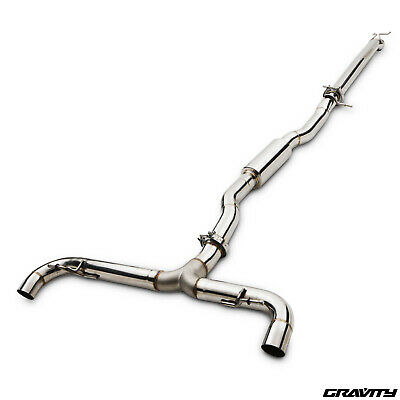 "3"" Stainless Cat Back Exhaust System For Mercedes Benz A Class W176 A45 Amg 13-"