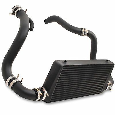 BLACK EDITION 600x300x85 FRONT MOUNT INTERCOOLER FOR NISSAN S14 S14A S15 SR20DET