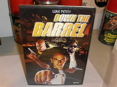 Down The Barrel-Luke Perry & Tara Price-dvd`Violence & Adult Themes-New/Sealed