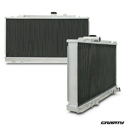 42mm ALUMINIUM ALLOY SPORT RADIATOR FOR TOYOTA CELICA ST185 GT4 2.0 4WD 89-93