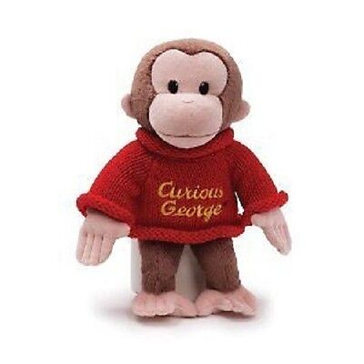 "12"" Curious George in Sweater plush - NEW, by GUND!!"