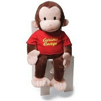 "26"" Classic Curious George Red Shirt plush - NEW, by GUND!!"