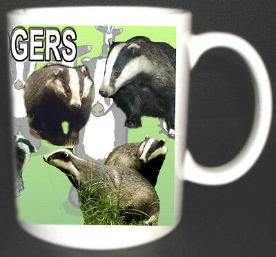 I Love Badgers Coffee Mug Limited Edition Great Design Can Be Personalised Foc