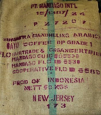 Organic Sumatra Espresso Whole Coffee Beans Roasted Daily  6 - 1LBS Bags
